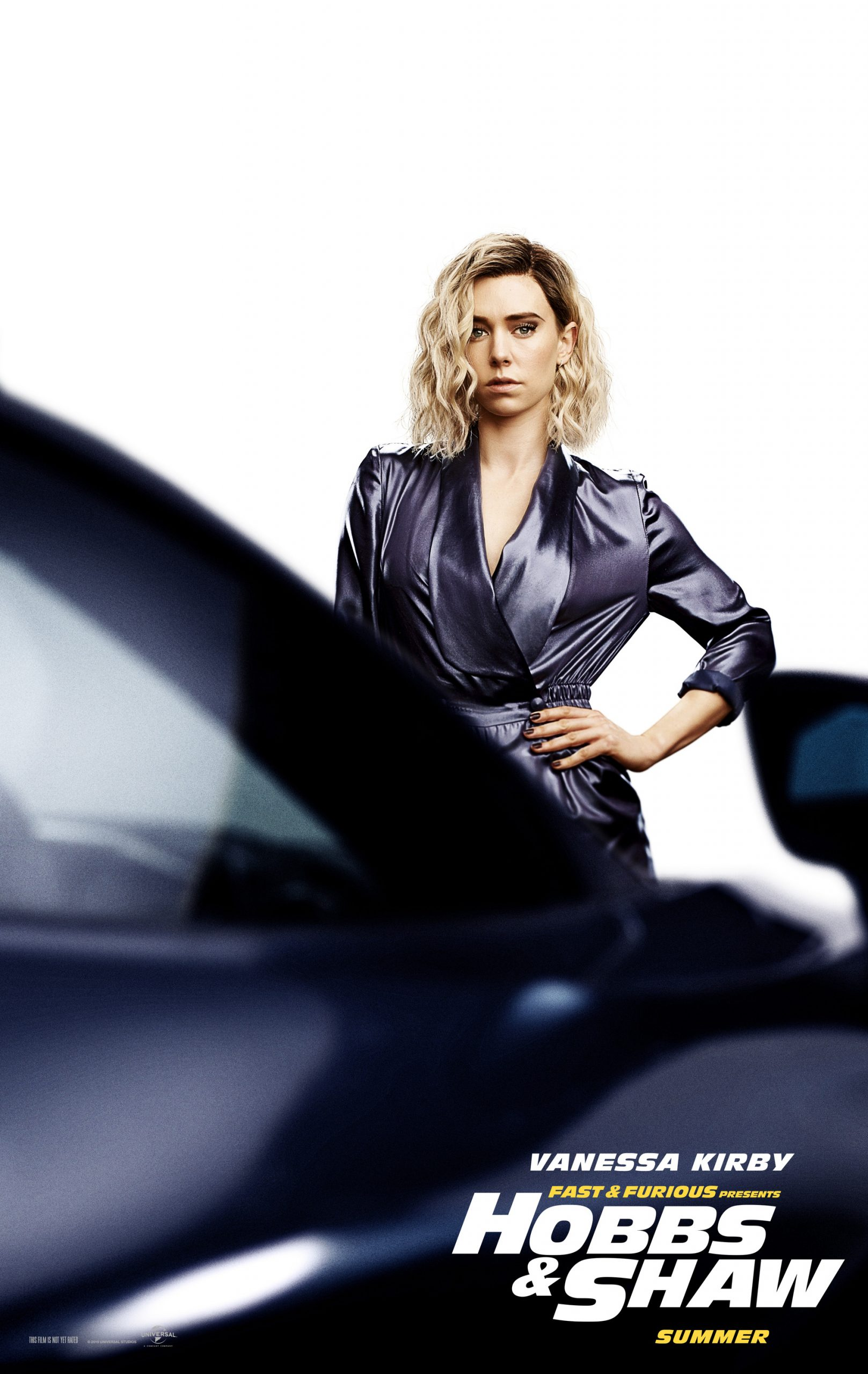Fast and Furious presents Hobbs and Shaw Character Posters Vanessa Kirby as Hattie Shaw