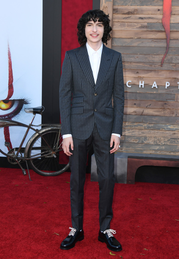 Finn Wolfhard IT Chapter Two Hollywood Premiere Los Angeles Arrivals