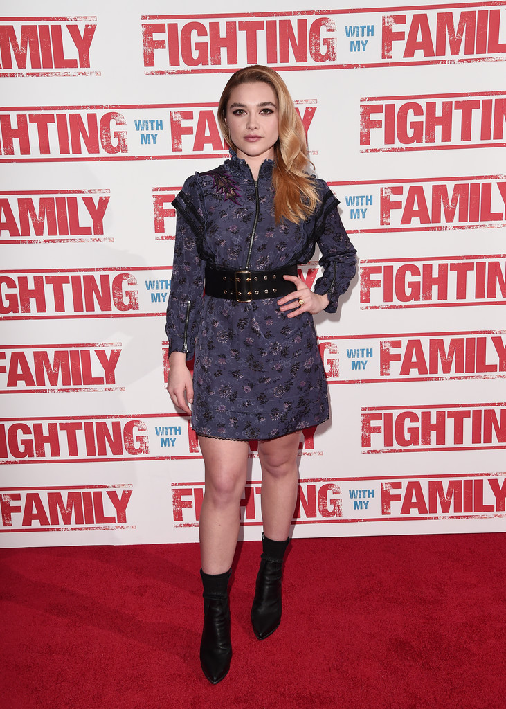 Florence Pugh Fighting with my Family UK Premiere London Arrivals