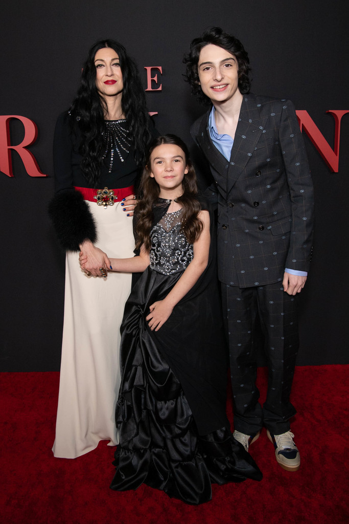 Floria Sigismondi, Brooklyn Prince and Finn Wolfhard The Turning Hollywod Premiere Los Angeles Arrivals