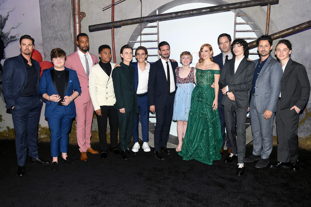 Full cast of IT Chapter Two Hollywood Premiere Los Angeles Arrivals