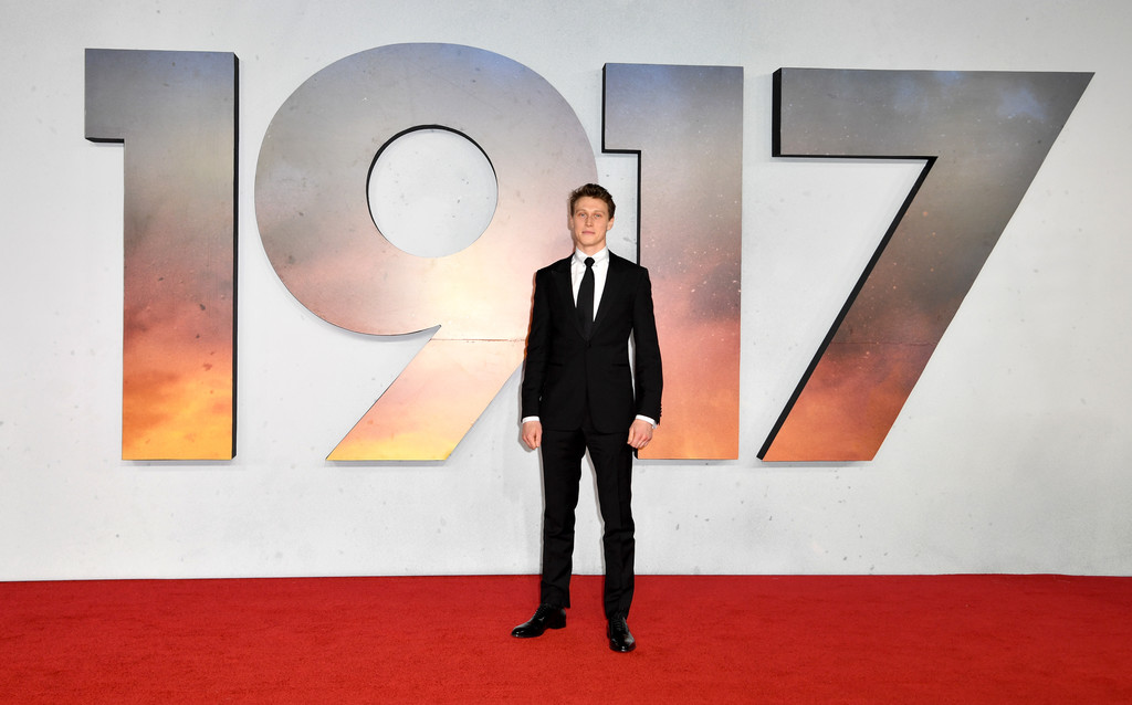 George MacKay 1917 World Premiere London Arrivals