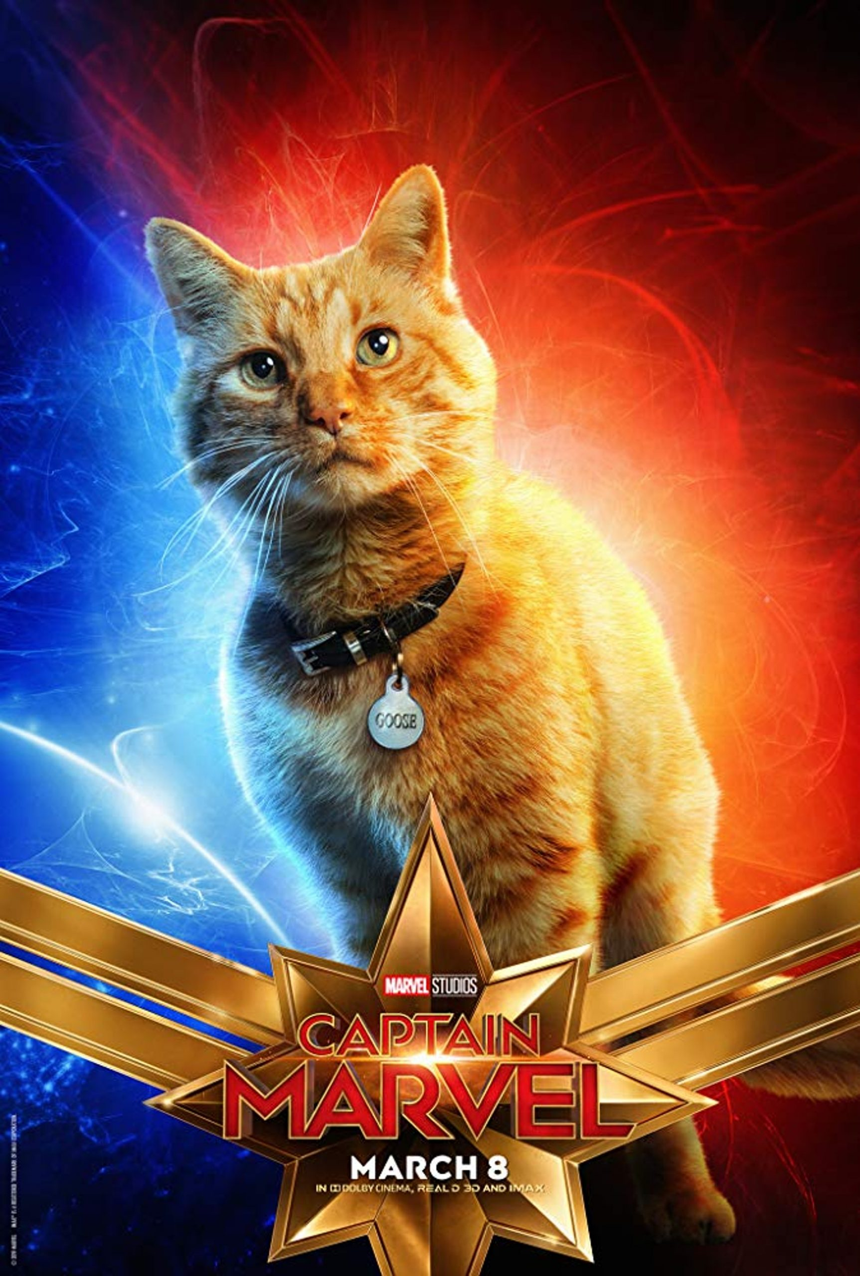 Goose the cat Captain Marvel Character Posters