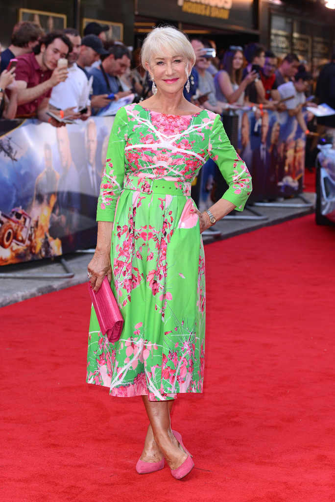 Helen Mirren Fast and Furious Presents Hobbs and Shaw UK Premiere London Arrivals