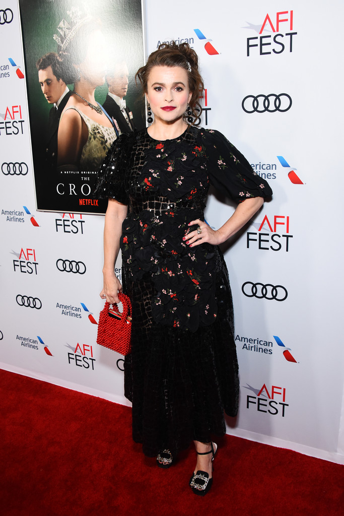Helena Bonham Carter The Crown Season 3 Los Angles Premiere AFI Fest 2019