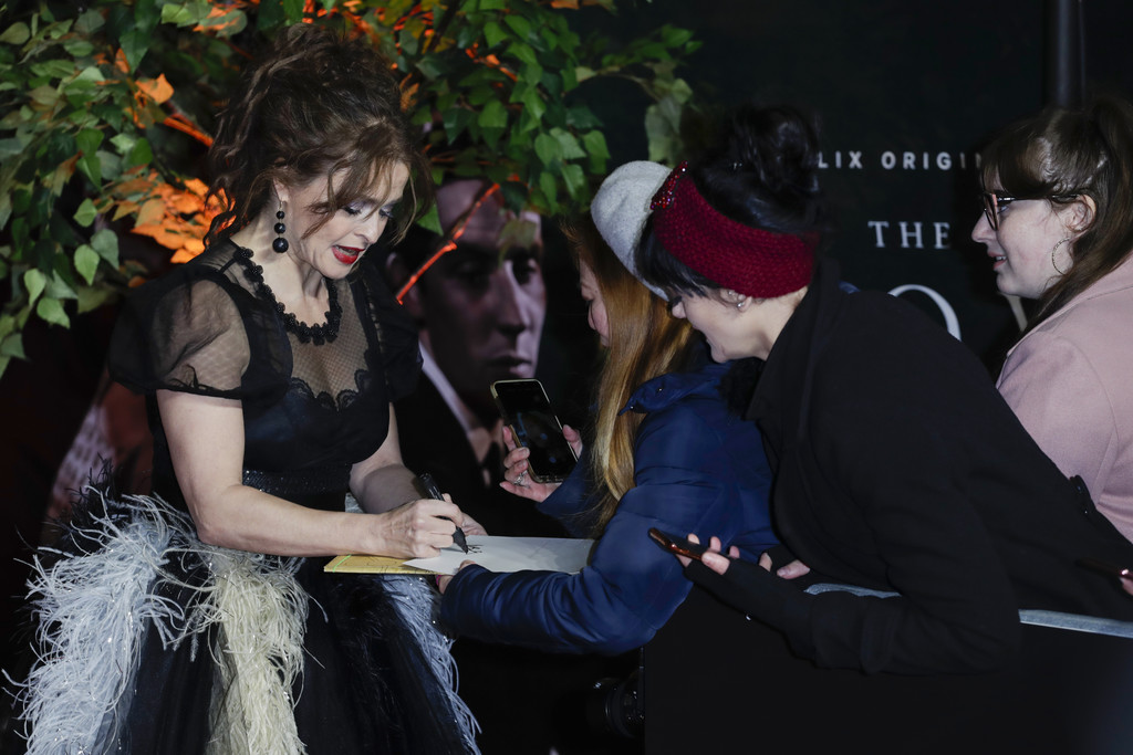 Helena Bonham Carter The Crown Season 3 Premiere London Arrivals