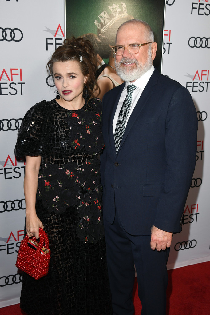 Helena Bonham Carter and Michael Lumpkin The Crown Season 3 Los Angles Premiere AFI Fest 2019