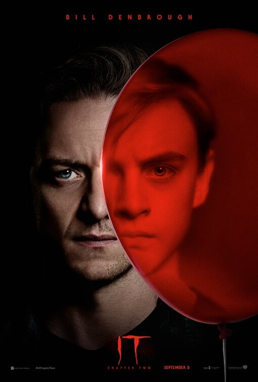 IT Chapter Two Character Posters Bill Denbrough