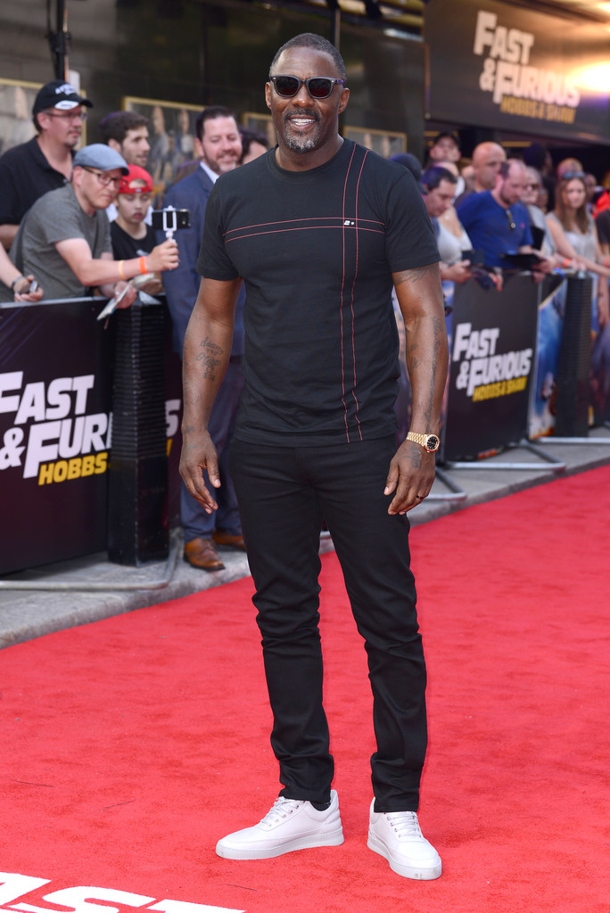 Idris Elba Fast and Furious Presents Hobbs and Shaw UK Premiere London Arrivals