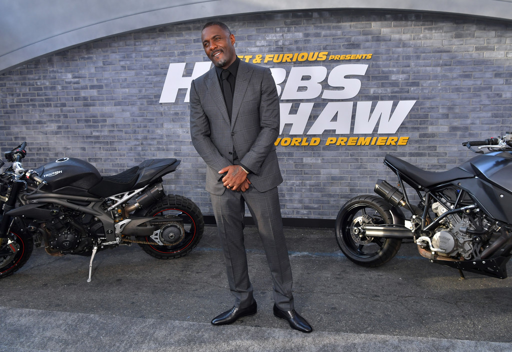 Idris Elba Fast and Furious Presents Hobbs and Shaw World Premiere Hollywood Los Angeles