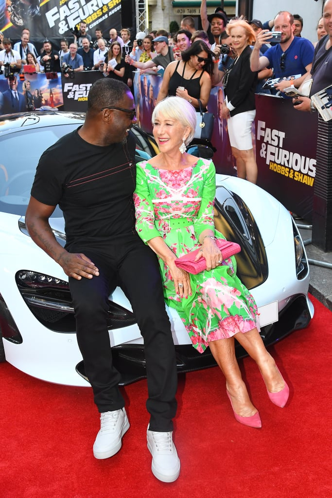 Idris Elba and Helen Mirren Fast and Furious Presents Hobbs and Shaw UK Premiere London Arrivals