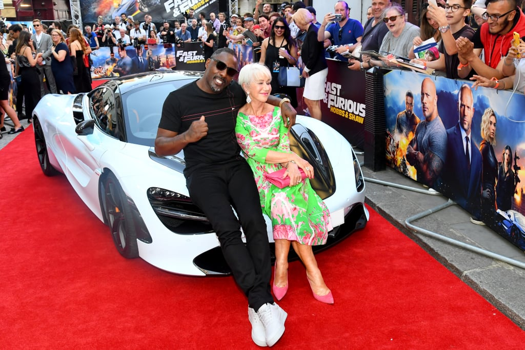 Idris Elba and Helen Mirren Fast and Furious Presents Hobbs and Shaw UK Premiere London Arrivals copy