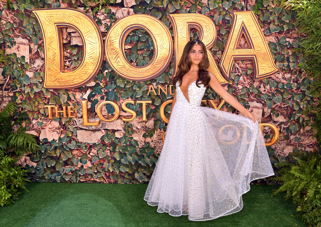 Isabela Moner Dora and the Lost City of Gold World Premiere Los Angeles