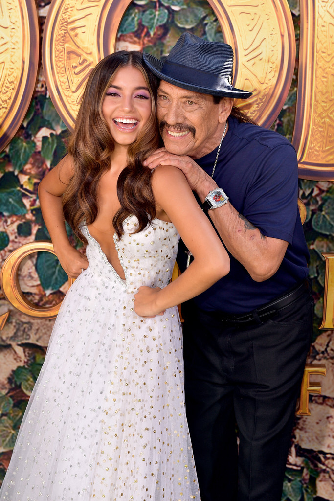 Isabela Moner and Danny Trejo Dora and the Lost City of Gold World Premiere Los Angeles