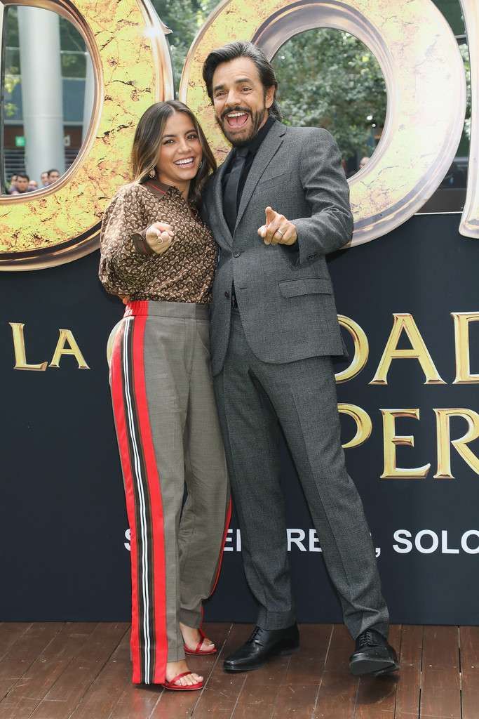 Isabela Moner and Eugenio Derbez Dora and the Lost City of Gold Mexico Premiere