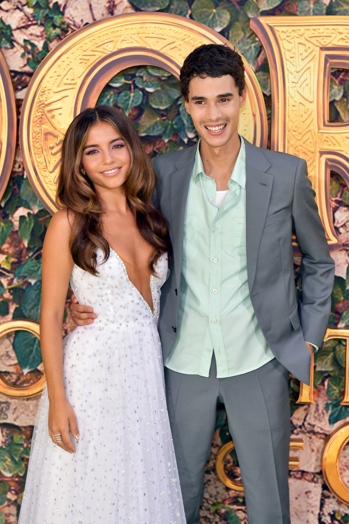 Isabela Moner and Jeff Wahlberg Dora and the Lost City of Gold World Premiere Los Angeles