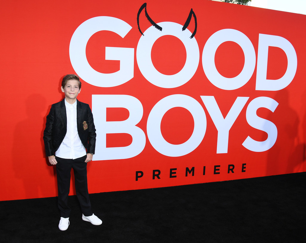 Jacob Tremblay Good Boys Los Angeles Premiere