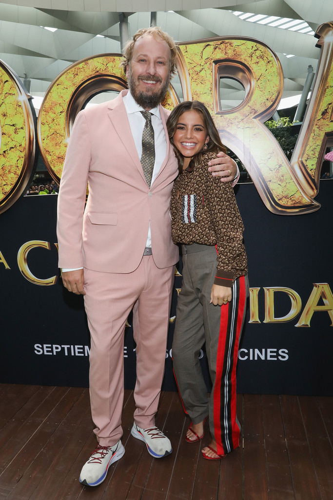 James Bobin and Isabela Moner Dora and the Lost City of Gold Mexico Premiere