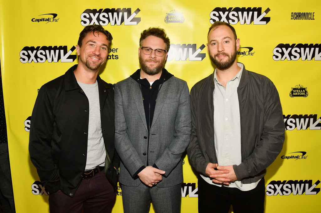 James Weaver, Seth Rogen and Evan Goldberg Good Boys Premiere Texas