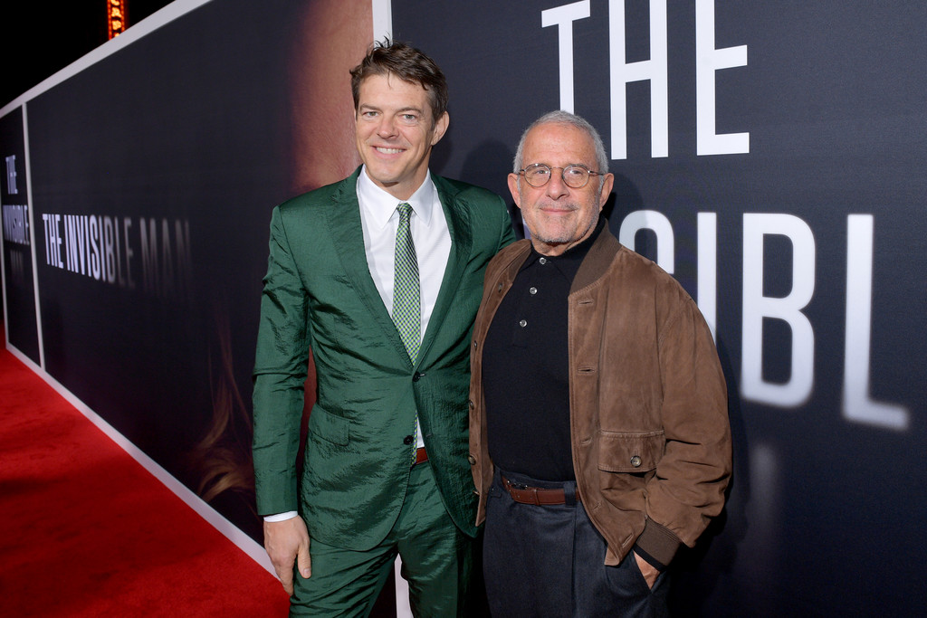 Jason Blum and Ron Meyer The Invisible Man Hollywood Premiere Los Angeles Arrivals