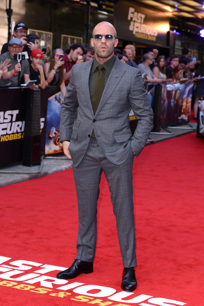 Jason Statham Fast and Furious Presents Hobbs and Shaw UK Premiere London