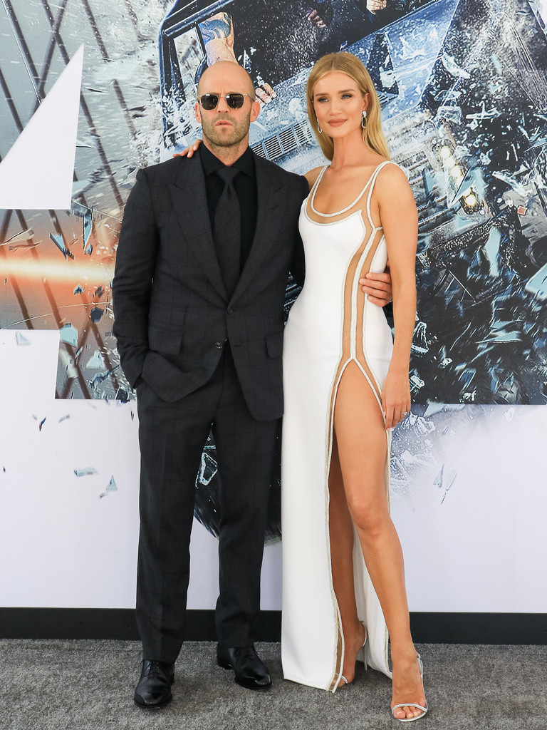 Jason Statham and Rosie Huntington-Whiteley Fast and Furious Presents Hobbs and Shaw World Premiere Hollywood Los Angeles