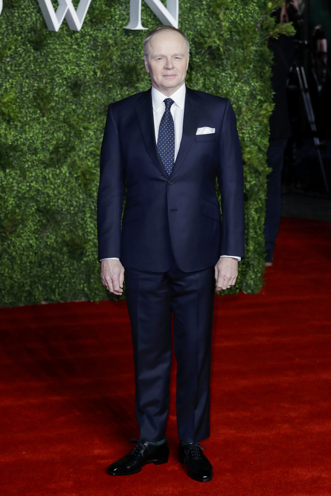 Jason Watkins The Crown Season 3 Premiere London