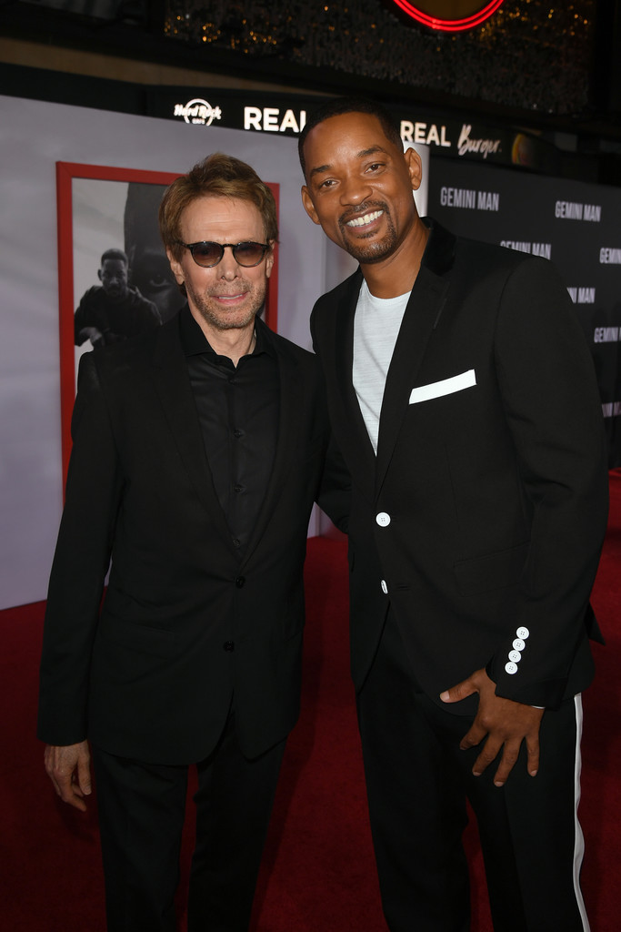 Jerry Bruckheimer and Will Smith Gemini Man Hollywood Premiere Los Angeles