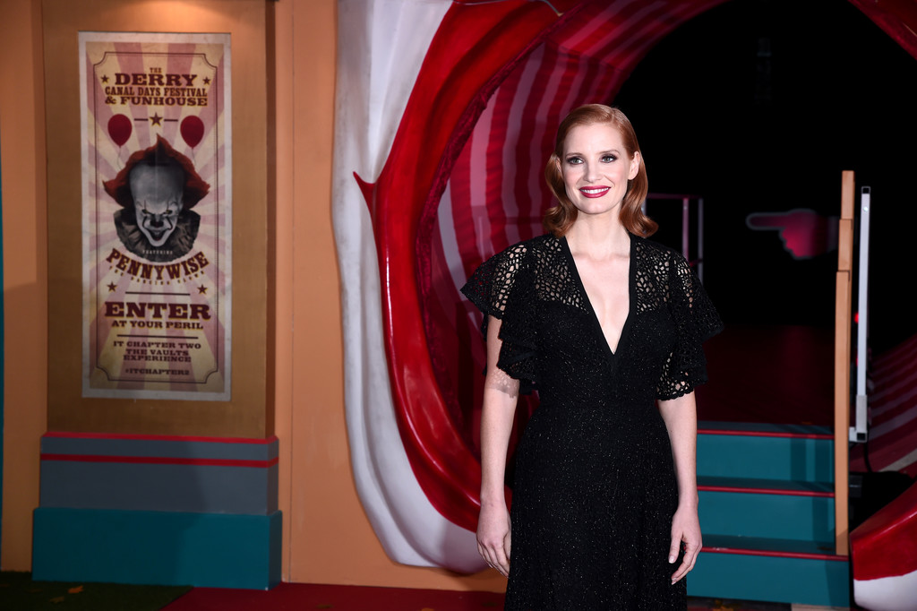 Jessica Chastain IT Chapter Two European Premiere London Arrivals