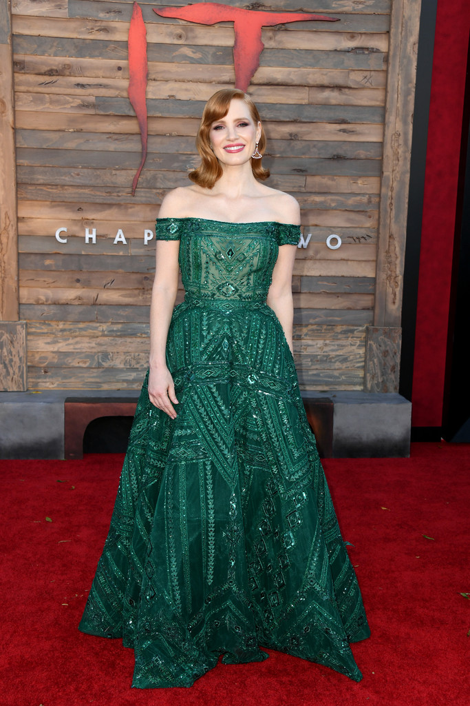 Jessica Chastain IT Chapter Two Hollywood Premiere Los Angeles Arrivals