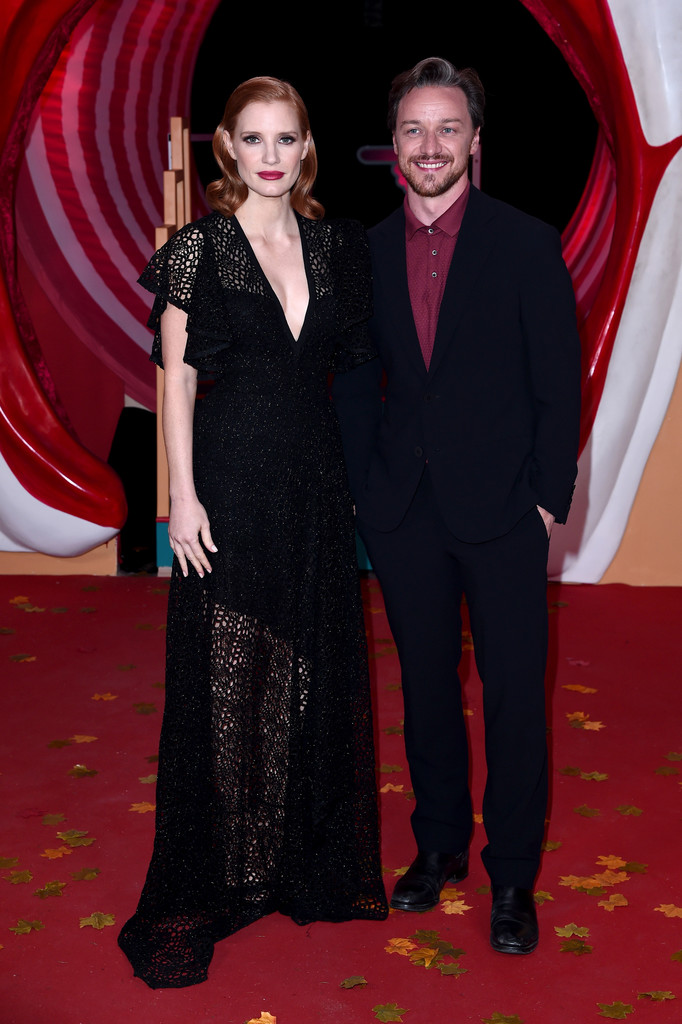Jessica Chastain and James McAvoy IT Chapter Two European Premiere London Arrivals