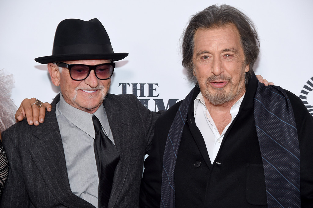 Joe Pesci and Al Pacino The Irishman New York Film Festival Premiere