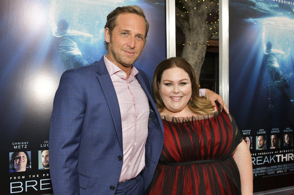 Josh Lucas and Chrissy Metz Breakthrough Los Angeles Premiere