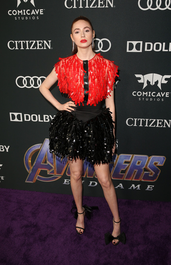 Karen Gillan Marvel Avengers Endgame World Premiere Los Angeles Hollywood