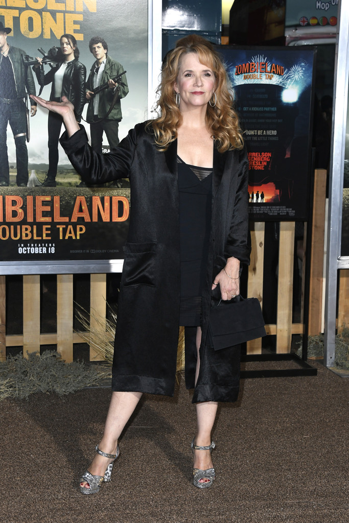 Lea Thompson Zombieland Double Tap Los Angeles Premiere