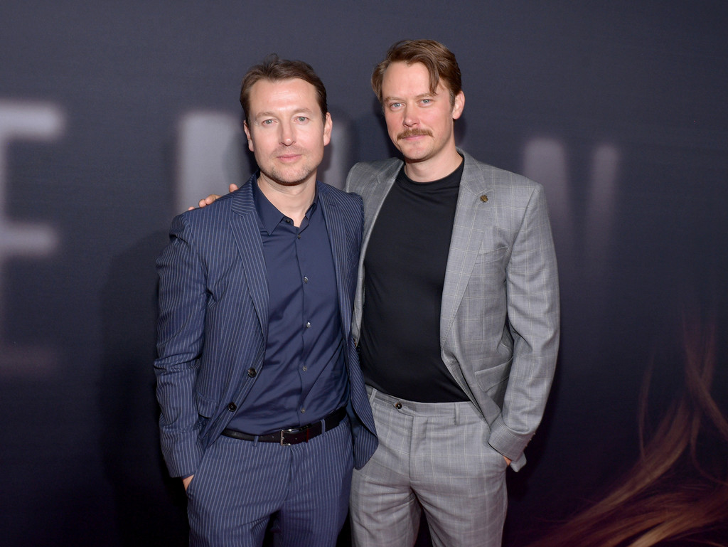 Leigh Whannell and Michael Dorman The Invisible Man Hollywood Premiere Los Angeles Arrivals