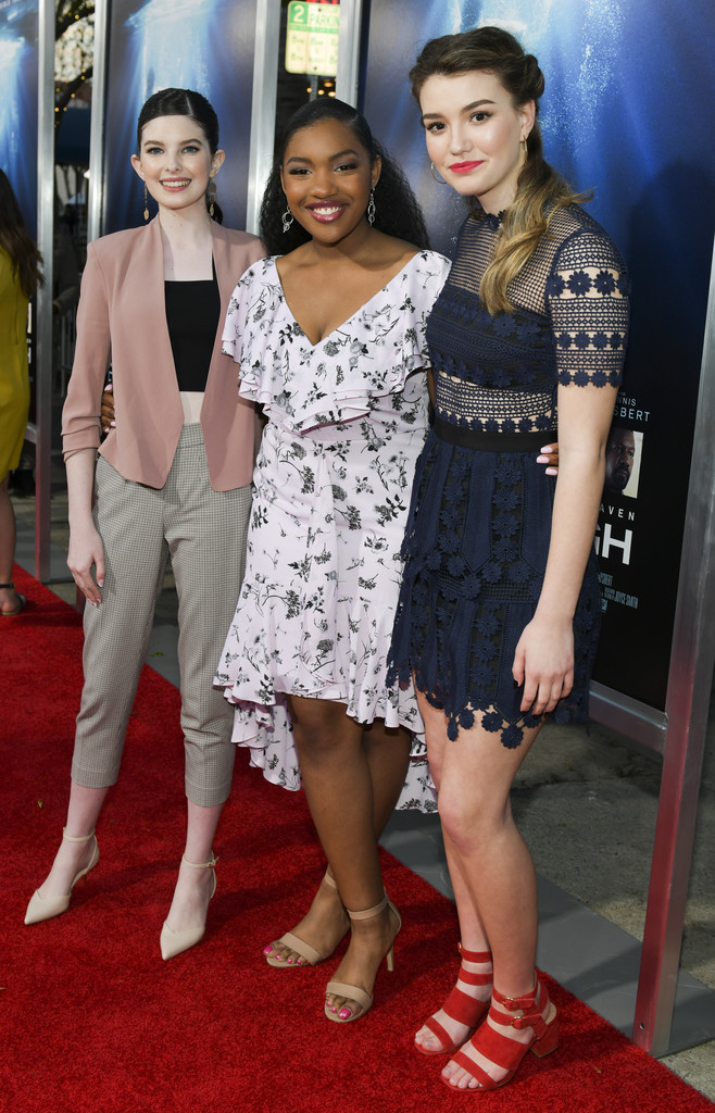 Maddy Martin, Taylor Mosby and Ali Skovbe Breakthrough Los Angeles Premiere