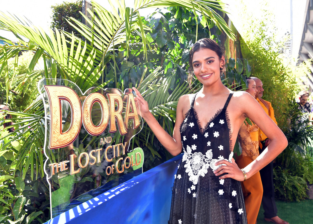 Madeleine Madden Dora and the Lost City of Gold World Premiere Los Angeles