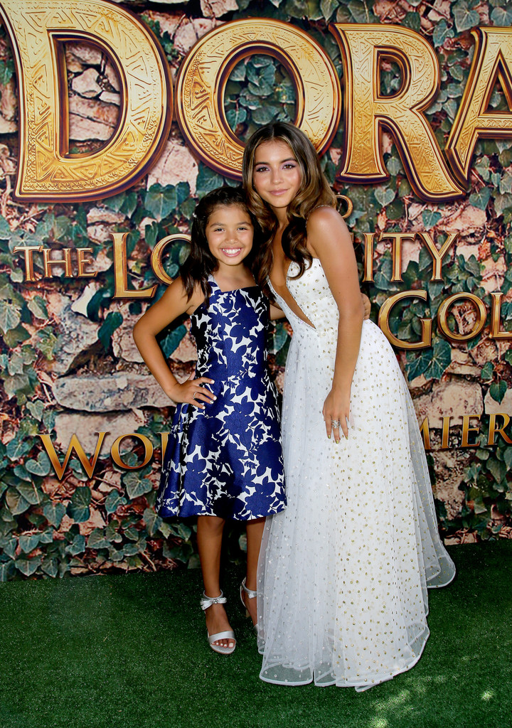Madelyn Miranda and Isabela Moner Dora and the Lost City of Gold World Premiere Los Angeles