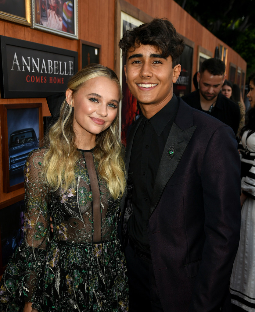 Madison Iseman and Michael Cimino Annabelle Comes Home Los Angeles Premiere