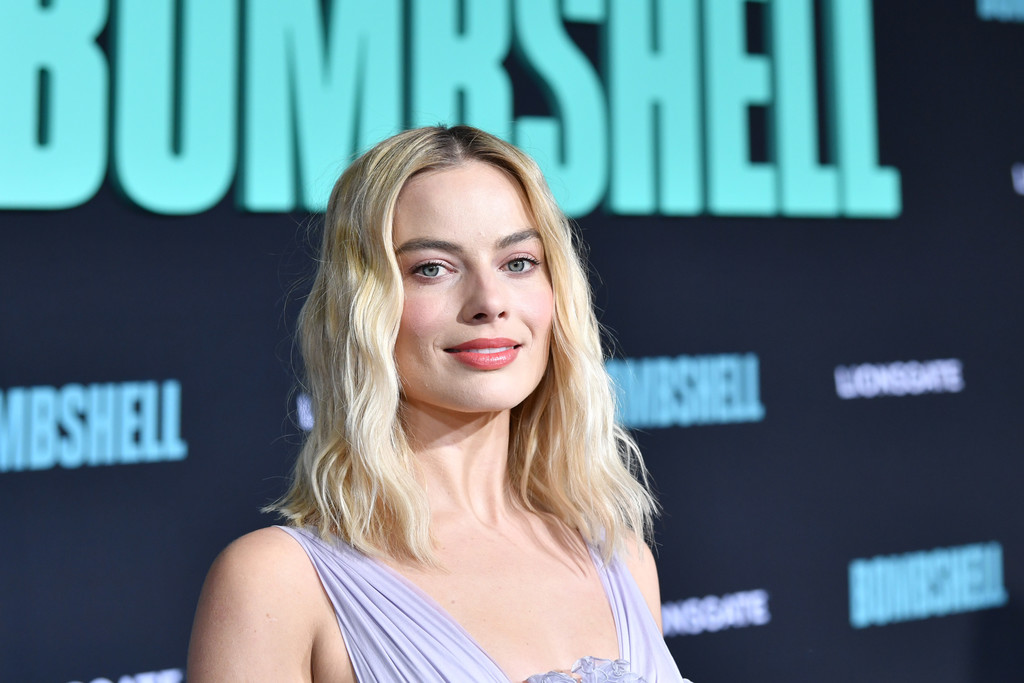 Margot Robbie Bombshell Premiere Hollywood Los Angeles Arrivals