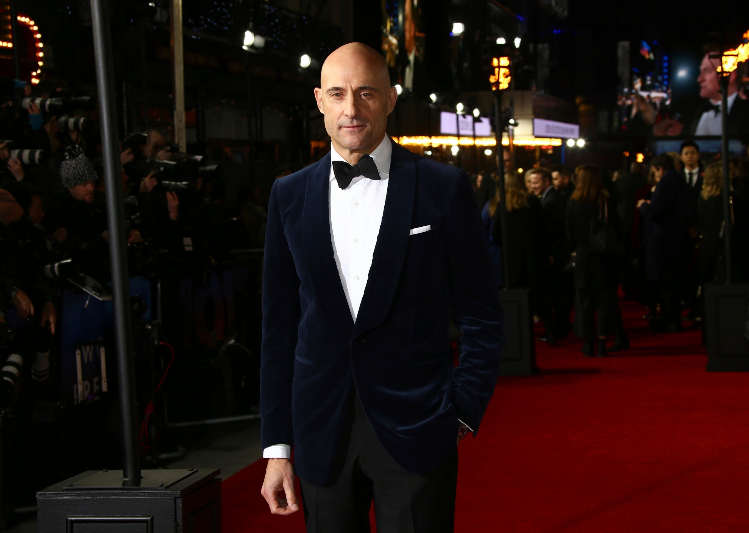 Mark Strong. 1917 World Premiere London Arrivals
