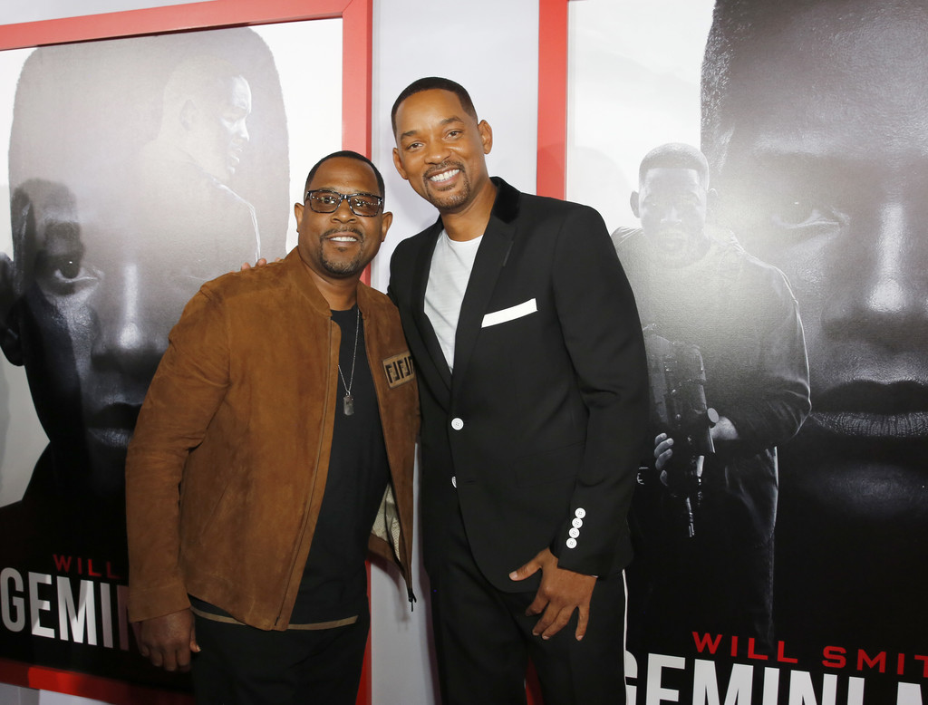 Martin Lawrence and Will Smith Gemini Man Hollywood Premiere Los Angeles