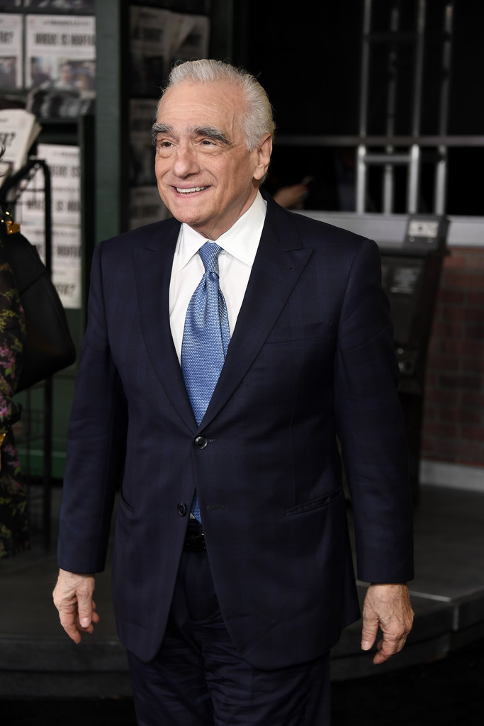 Martin Scorsese The Irishman Los Angeles Premiere