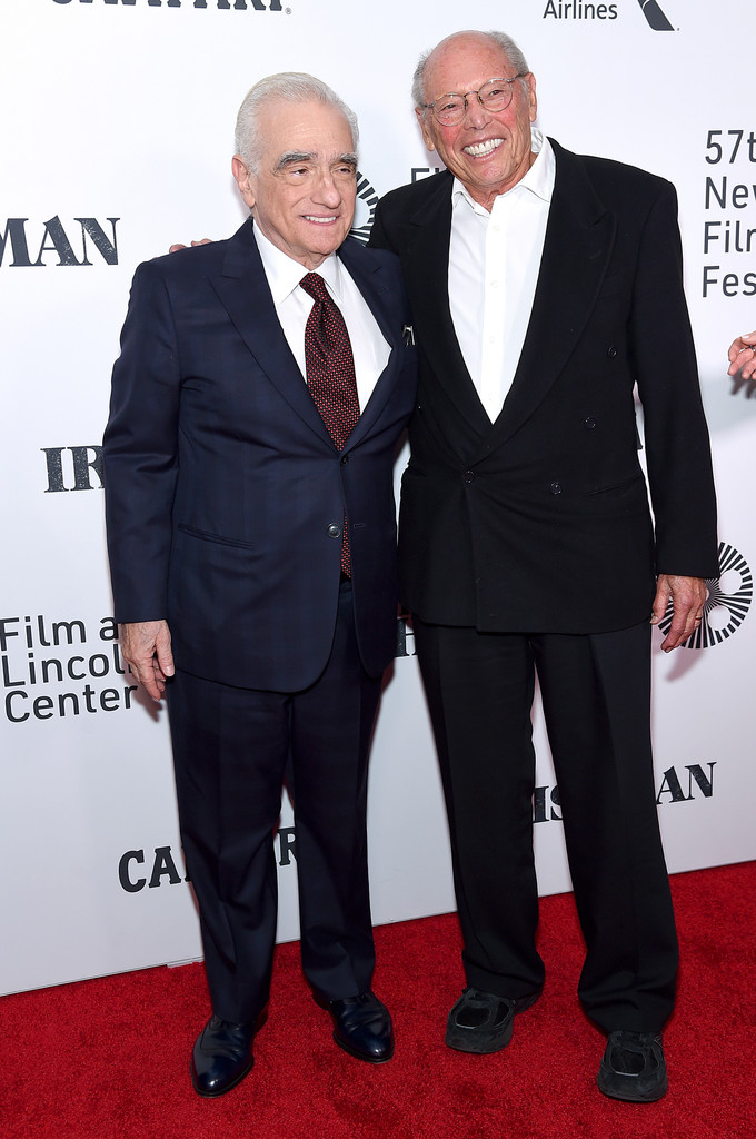 Martin Scorsese and Irwin Winkler The Irishman New York Film Festival Premiere