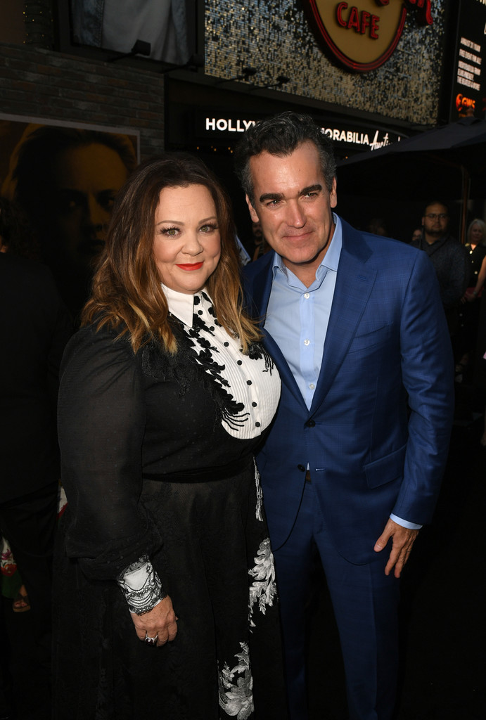Melissa McCarthy and Brian d'Arcy James The Kitchen Los Angeles Premiere