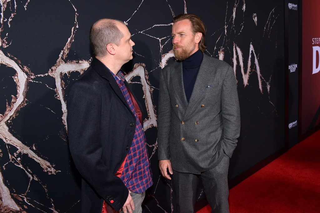 Mike Flanagan and Ewan McGregor Doctor Sleep Los Angeles Premiere