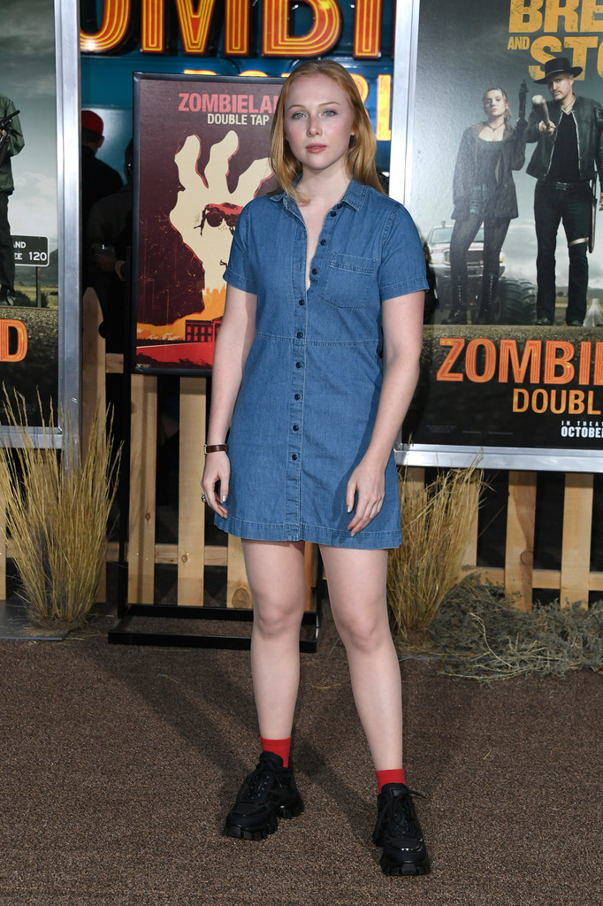 Molly Quinn Zombieland Double Tap Los Angeles Premiere