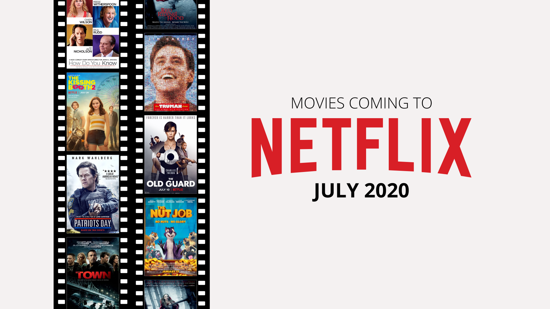 What films are coming to Netflix U.K. and U.S in July 2020
