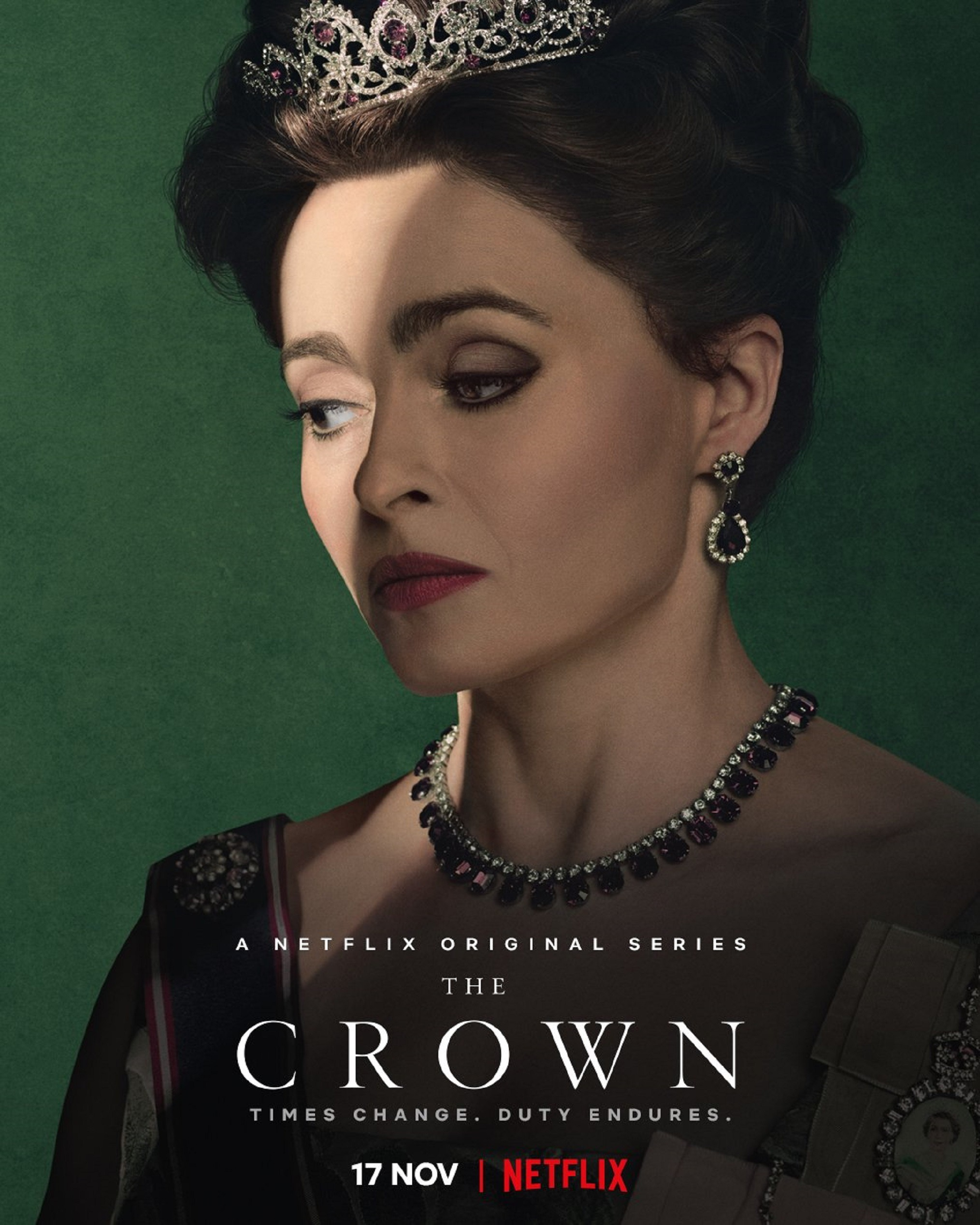 Netflix The Crown Season 3 Character Posters Helena Bonham Carter as Princess Margaret